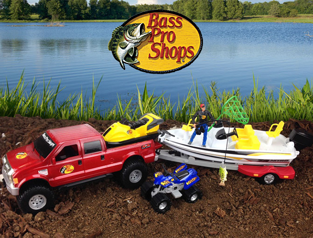 Tree house kids toys for Bass pro shop fishing games